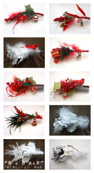 Potato Made - Holiday Hair Combs by AngryPotato