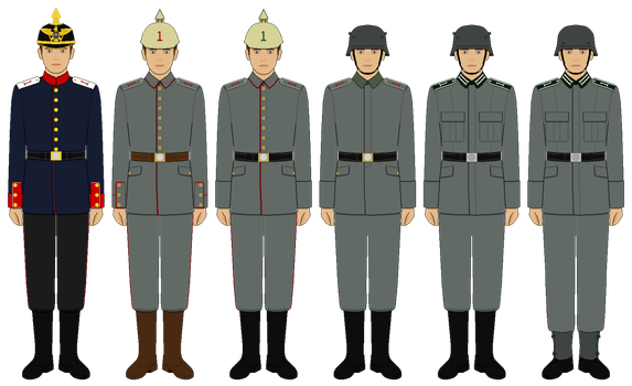 [WIP] Enlisted Field Uniforms Timeline by tsd715