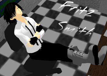 MMD NEWCOMER!! Fritz Smith by kaikaitanner