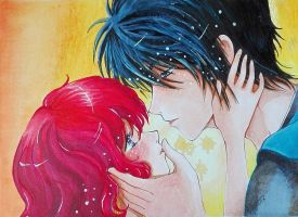 Yona and Hak by umikohoshi