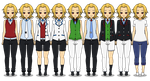 | Hidden Academy's Boys Uniforms | by zZLazyWolfZz