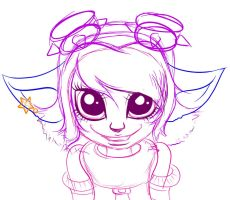 Tristana- sketch by The-Curvy-Geek