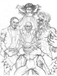 Concept Design for Anomalous Comics' ThrillKillers by Inkcor
