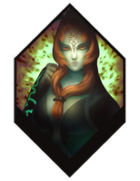 Twilight Princess: Midna by TheridonGrey