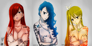 Fairy Tail womans tatto by stagadw