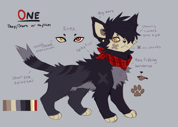 One Reference Sheet by dexikon