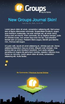 Groups Journal Skin by TheRyanFord
