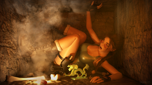 It's a trap Lara ! by James--C