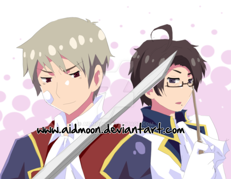 APH . Austria and Prussia . by aidmoon