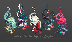 [CLOSED ADOPT] Keyccchain guest batch by 5019