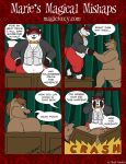 Maries Magical Mishaps 34 by PudgeyRedFox