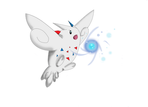 Togekiss used Aura Sphere by K-Wabbit