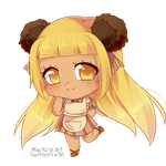 [AT] Chibi Lauraine [animated gif] by blushingbats