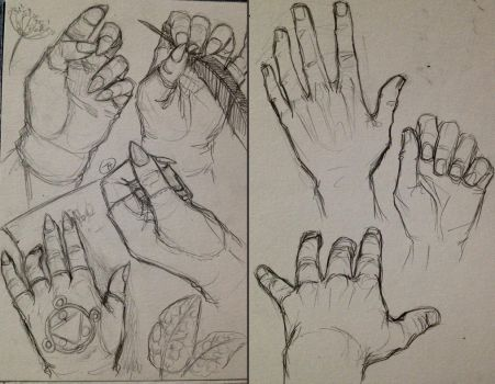 Some Hands by Tamarandom