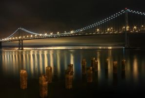 Sticks, Stones and Bay Bridge by hemasu