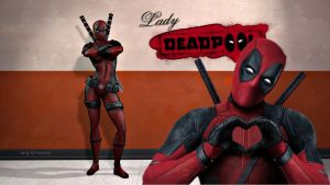Lady Deadpool Wallpaper 1 by Curtdawg53