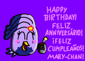 Happy Birthday Mary-chan! by SprixieFan12345