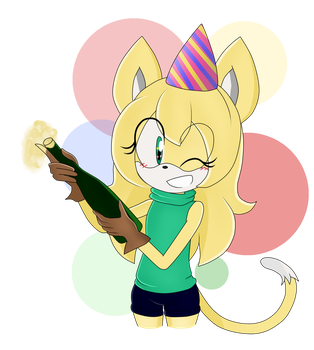 Happy New Year~ ESP by mica-doodles