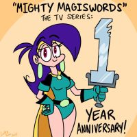 Mighty MagiSwords 1 year anniversary by artbylukeski