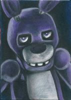 Bonnie ACEO-Five Nights at Freddy's by Seccrani