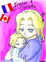 APH - France and Canada by IrisAngel131