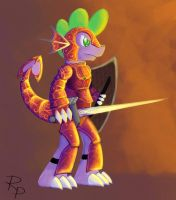 Armoured Spike by RuberPhoenix