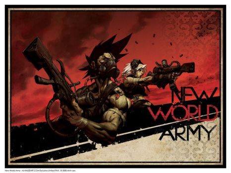 New World Army by alvinlee