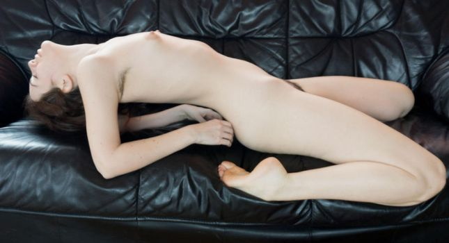 Couch Nude 2 by AimeeStock