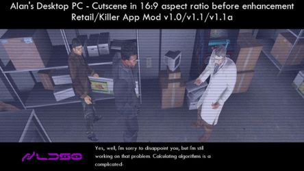 Alan's Desktop PC - Cutscene 16:9 enhancement by redrain85