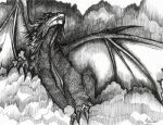 ++BLACK DRAGON by kitsuneonna
