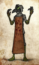 Plague Doctor by brothersdude