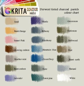 Krita tinted charcoal swatch by relenette