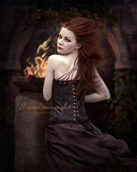 Gothic Grace by PaperDreamerArt