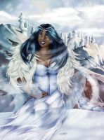 Ice Queen by Caravaggia