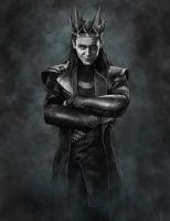 Rightful King Of Asgard by BadAssVillain