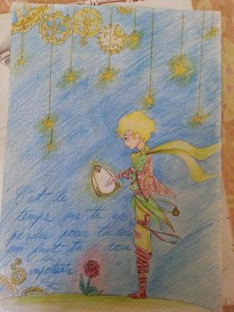 The Little Prince - Le Petit Prince steampunk by El-Olosta