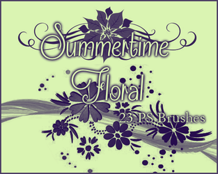 PS Summer Time Floral by Illyera