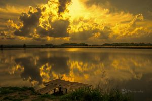 Cloudy Evening by XanaduPhotography