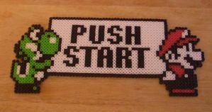 Press Start Perler by m0n0xide20
