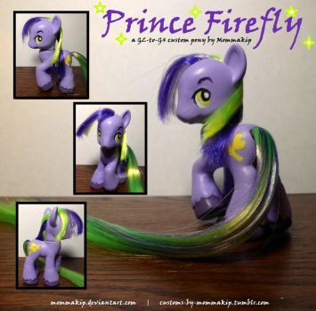 Prince Firefly G2-to-G4 Brushable by Mommakip
