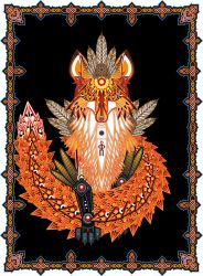 Totemic Fox (complete) by OFP-Rf