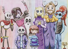 Undertale by Dagyne
