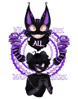 We Are All Mad Here by retroship