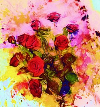 Say it with roses by DigitalHyperGFX