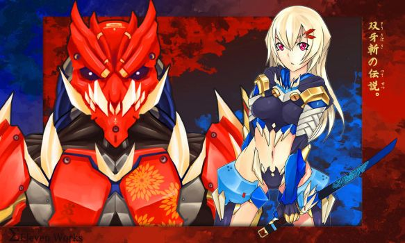 Red Oni, Blue Oni by SigmaEleven