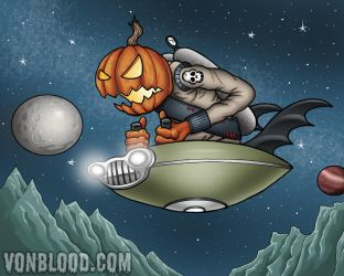 The Galactic Pumpkin by vonblood
