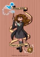 Hermione Granger by Blueberry-me