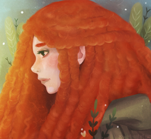 Princess Merida by as-obu