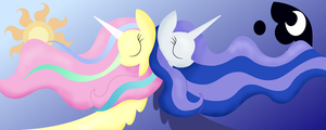 2 regal sisters by IcyWinterBerry