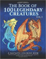 100 Legendary Creatures Book up for sale, Vol. 1 by Silver-Ray